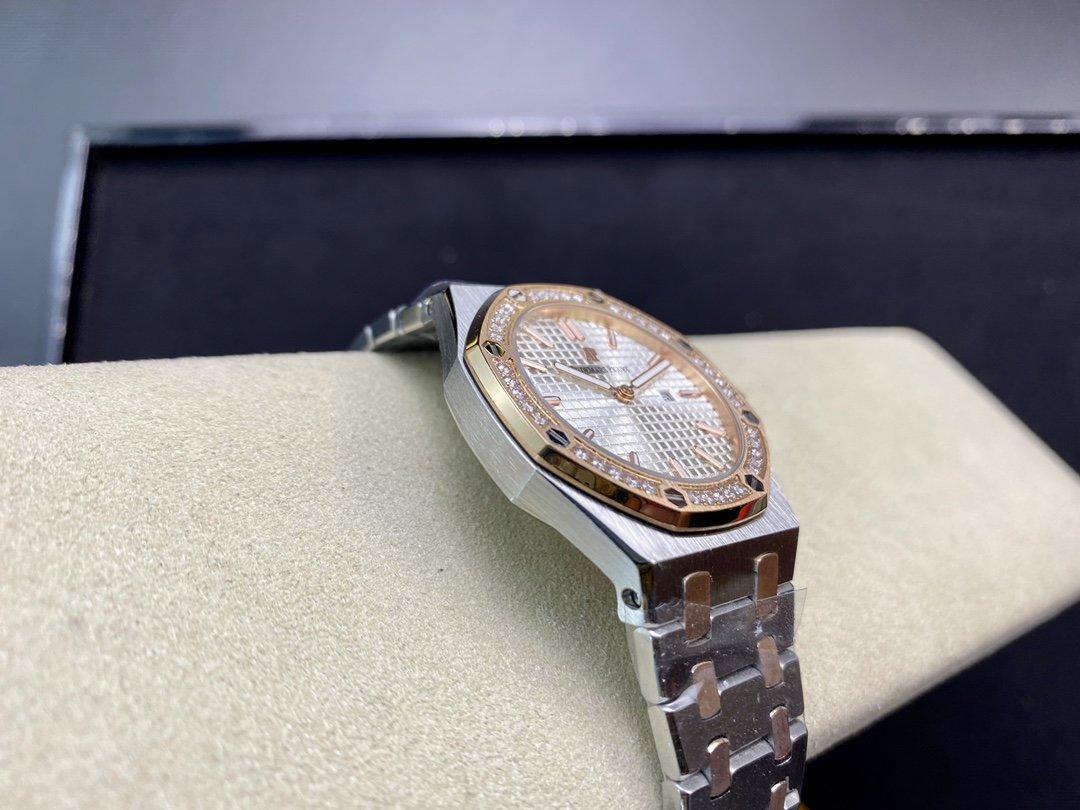 TW廠愛彼女表AP67650 直徑33mm 厚度7.7mm日本進口石英機芯高仿手錶