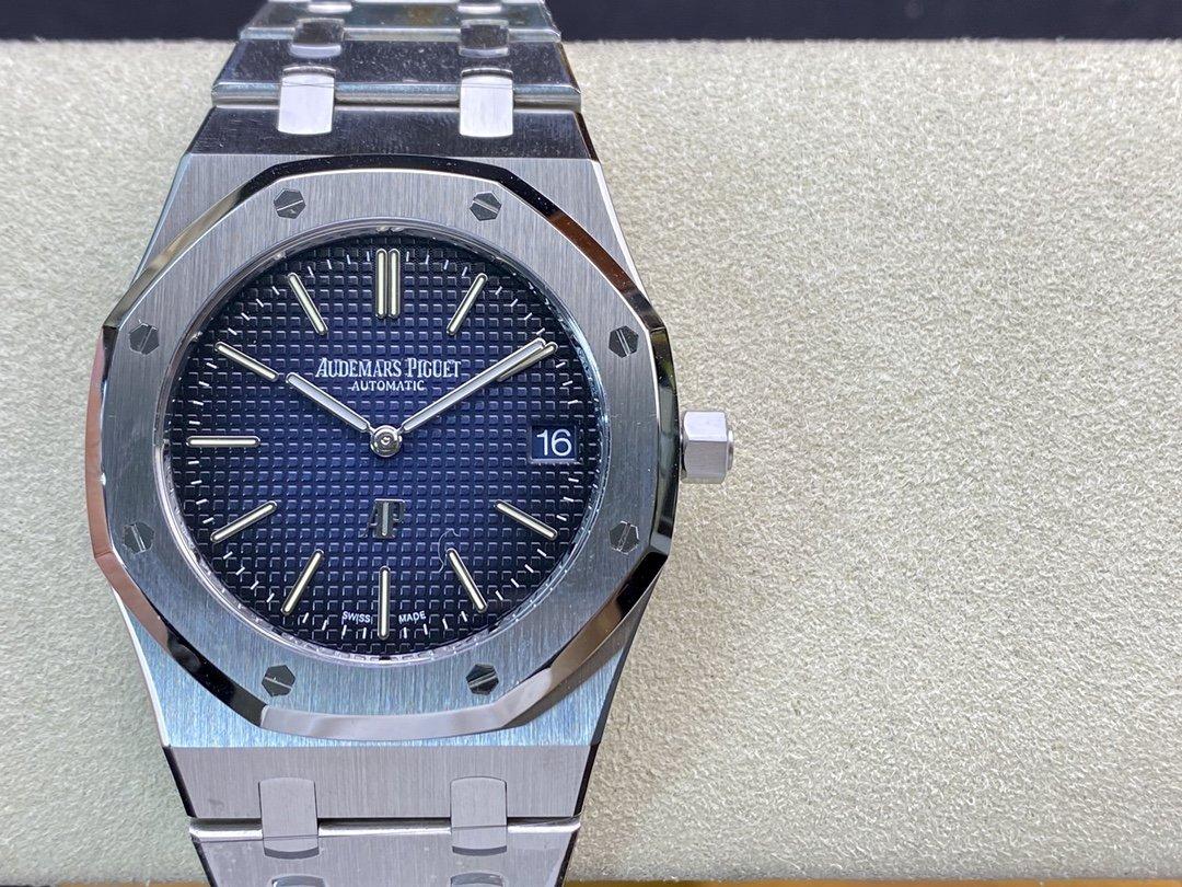 XF廠愛彼皇家橡樹15202 超薄渐变蓝39MM高仿手錶限量發售