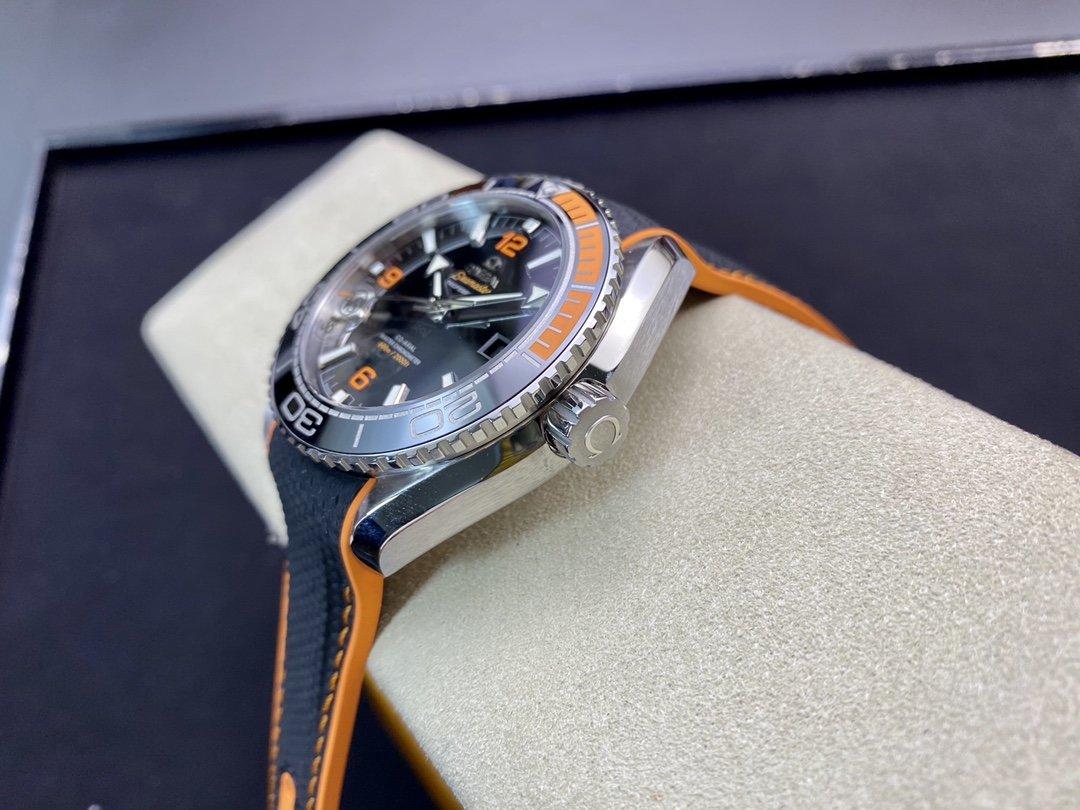 "VS廠歐米茄海馬600海洋宇宙600米""四分之一橙""8900機芯 複刻手錶"