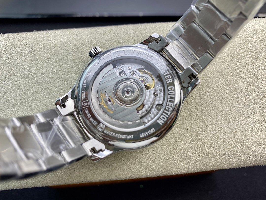 高仿浪琴名匠系列2892機芯38.5MM複刻手錶