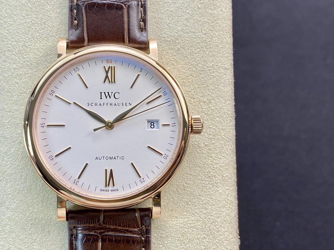 V7廠高仿萬國IWC波濤菲諾系列仿錶複刻手錶
