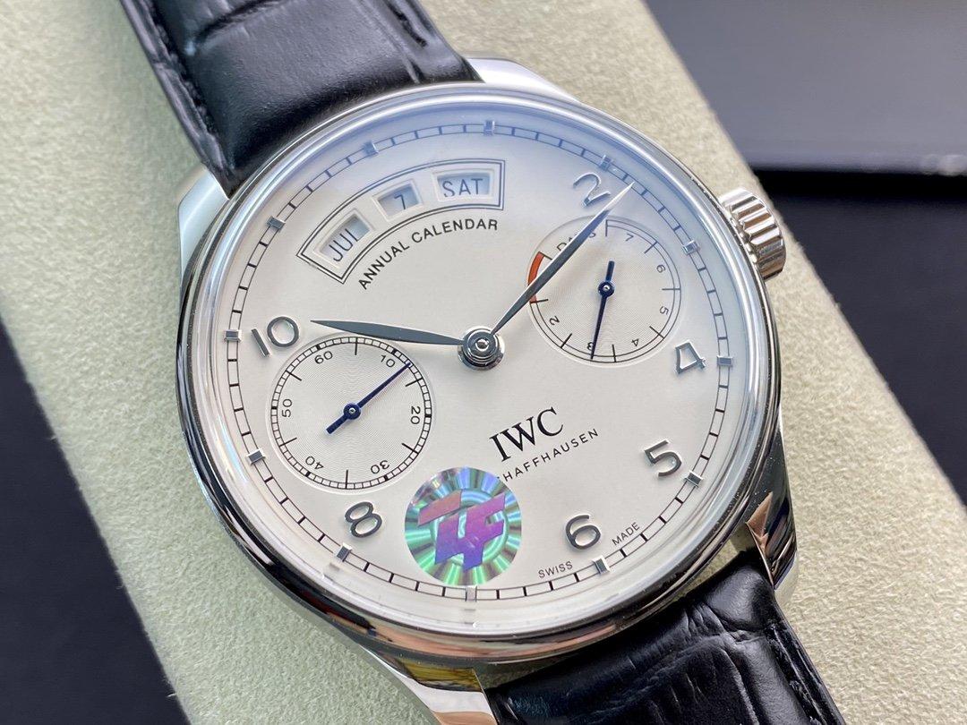 ZF廠高仿萬國IWC葡萄系牙系列 萬年曆 腕表複刻手錶