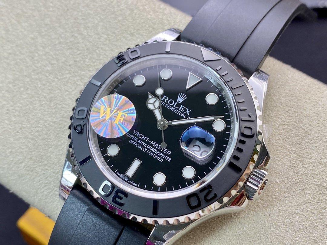 WF Factory 高仿勞力士ROLEX 遊艇名仕型YM白遊艇2836機芯42MM複刻手錶