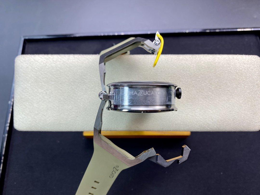 原裝義大利品牌魔舵MAZZUCATO絕不乏味RIM系列腕表雙面反轉的獨特設計N廠手錶