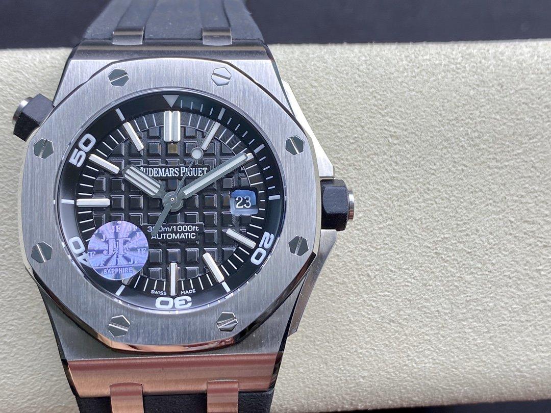 JF廠高仿愛彼AP皇家橡樹離岸型15703全新V9S超強版複刻手錶