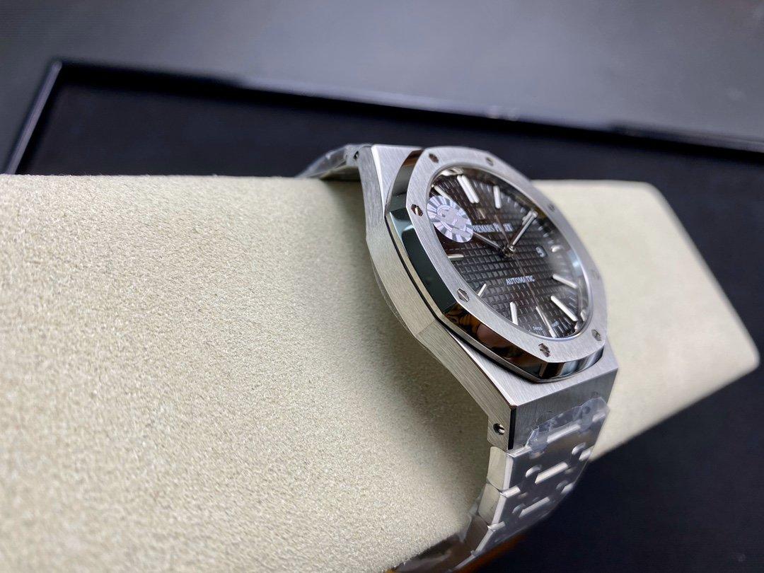 ZF廠高仿愛彼皇家橡樹15400系列CAL.3120一體機41MM高仿手錶