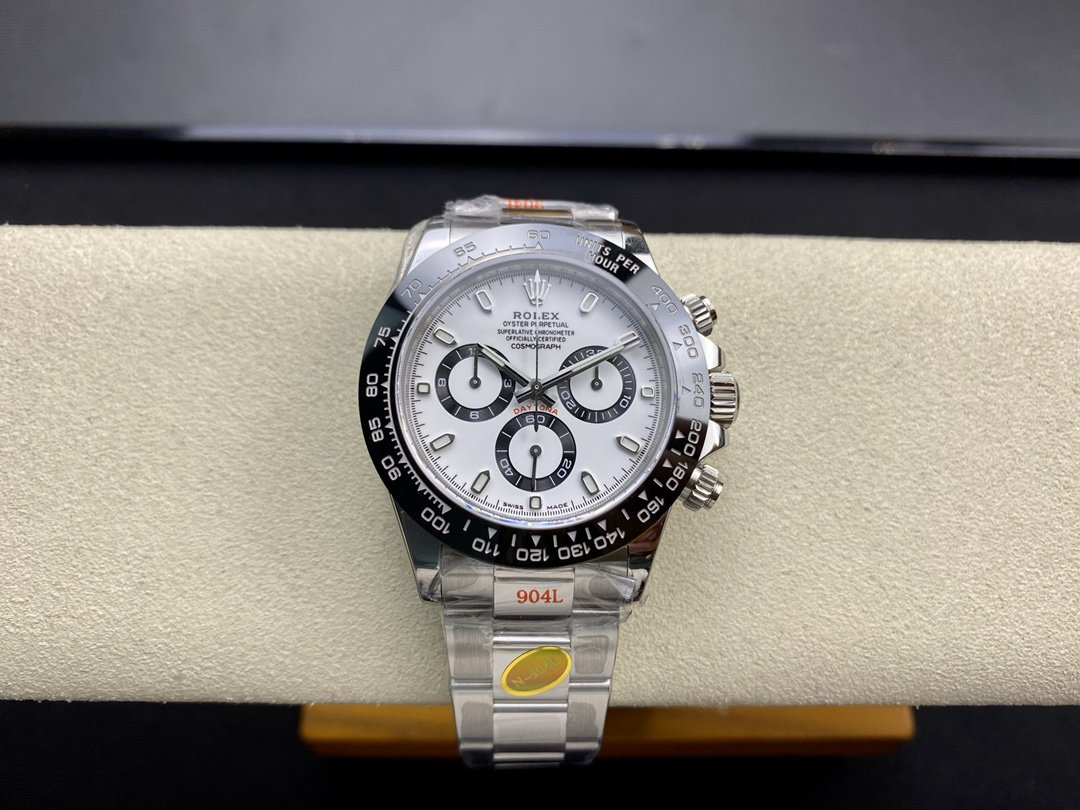 N厂V4版高仿劳力士迪通拿系列熊猫迪专属Cal.4130计时自动上链机芯40MM复刻手表