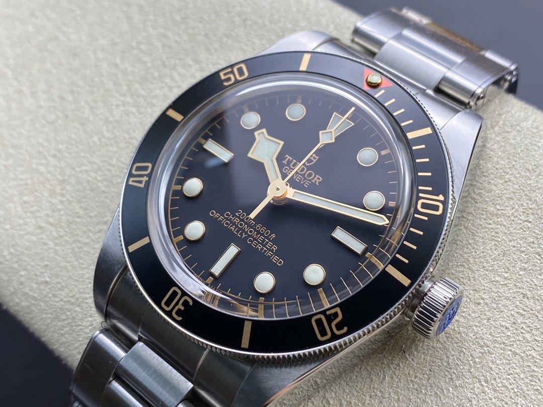 ZF廠帝陀碧灣系列M79030N-0001腕表碧灣小盾 復古別致39MM複刻手錶