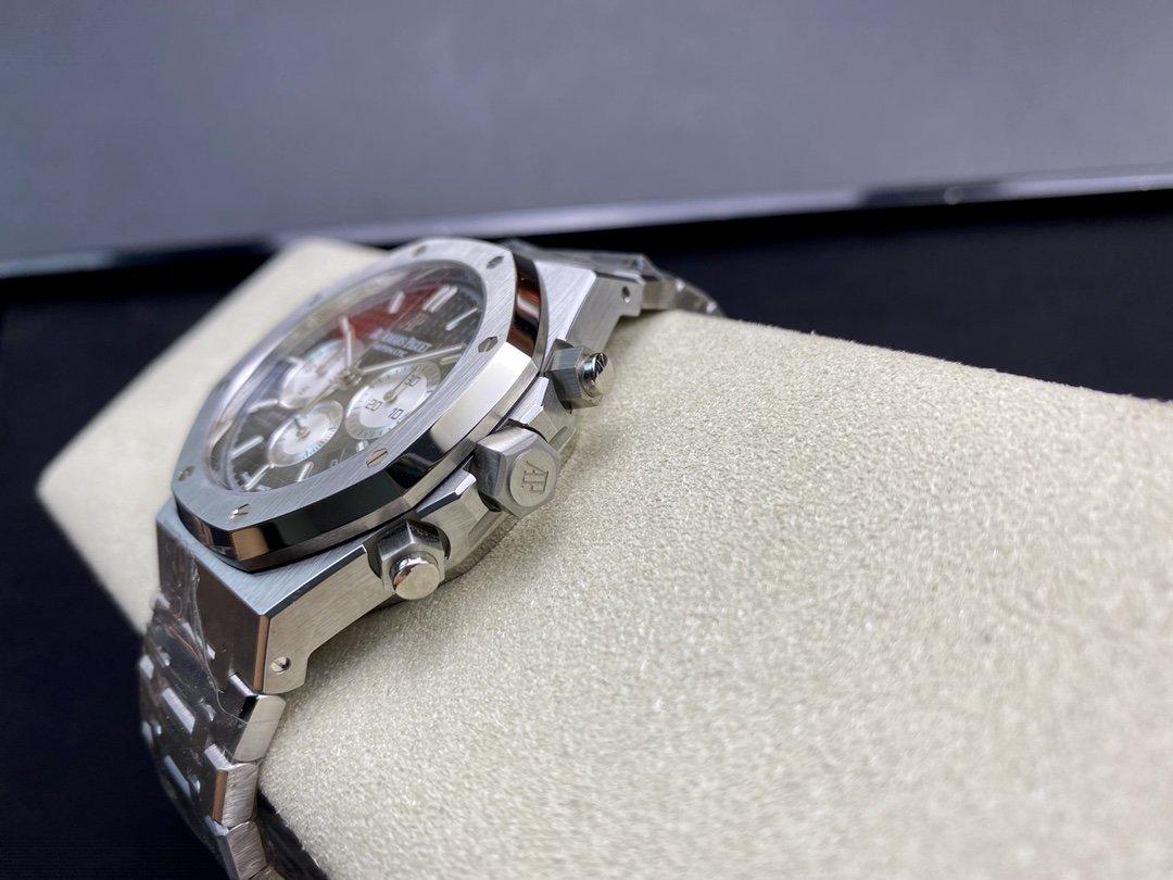 OM廠V2版複刻愛彼皇家橡樹26331計時系列2385機芯高仿手錶