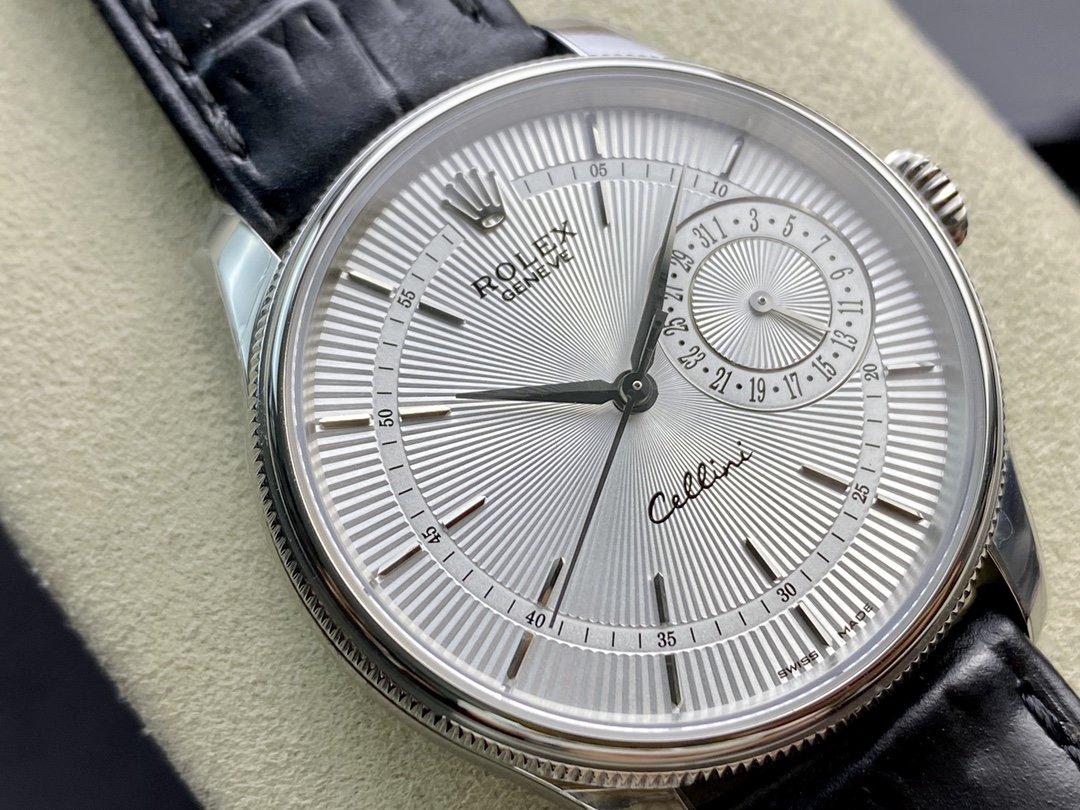 MKS廠複刻勞力士ROLEX切利尼系列50515型3165機芯39MM高仿手錶