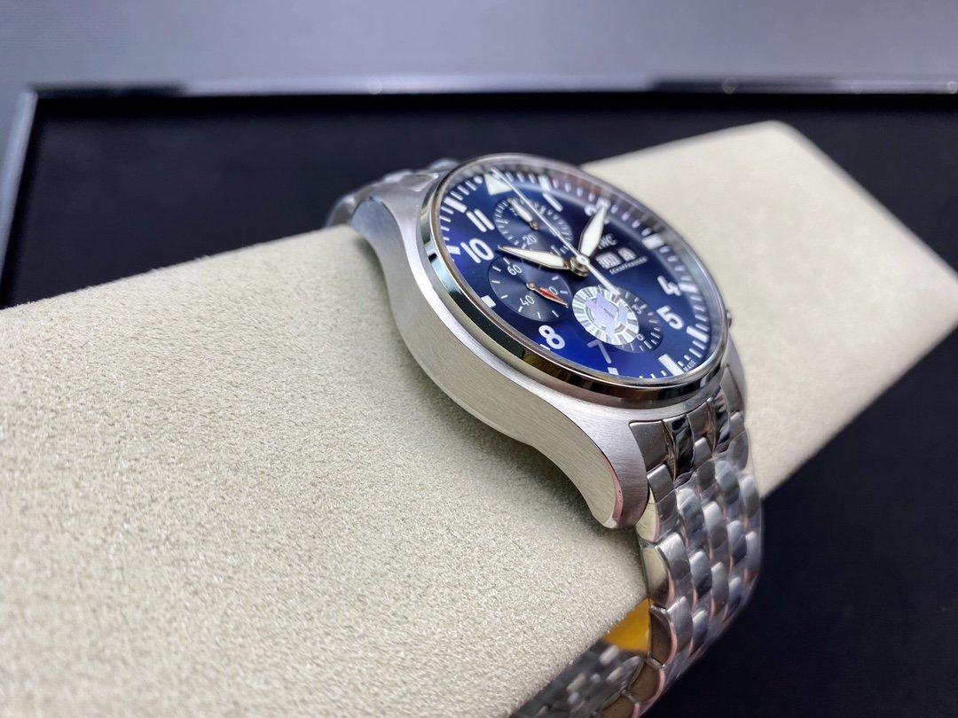 ZF出品高仿萬國3777飛行員計時系列7750機械43MM複刻手錶