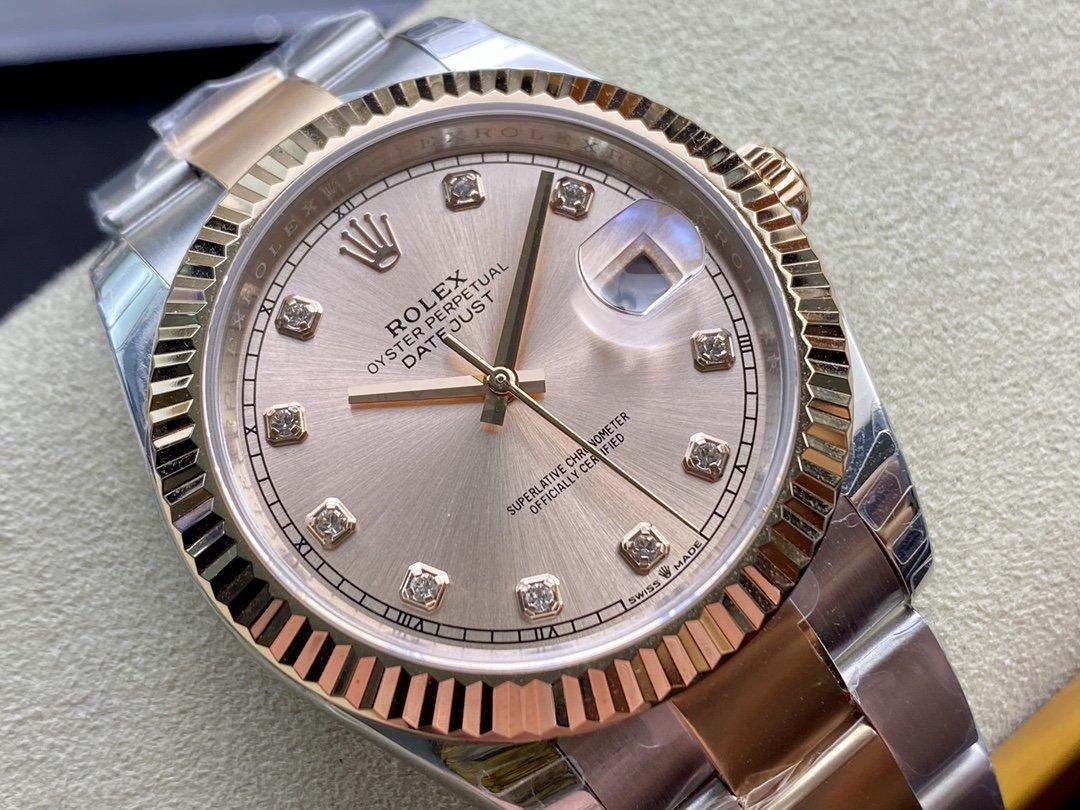 EW廠V3升級版 原版開模高仿勞力士Rolex 3235機芯126331日誌型系列41MM複刻手錶