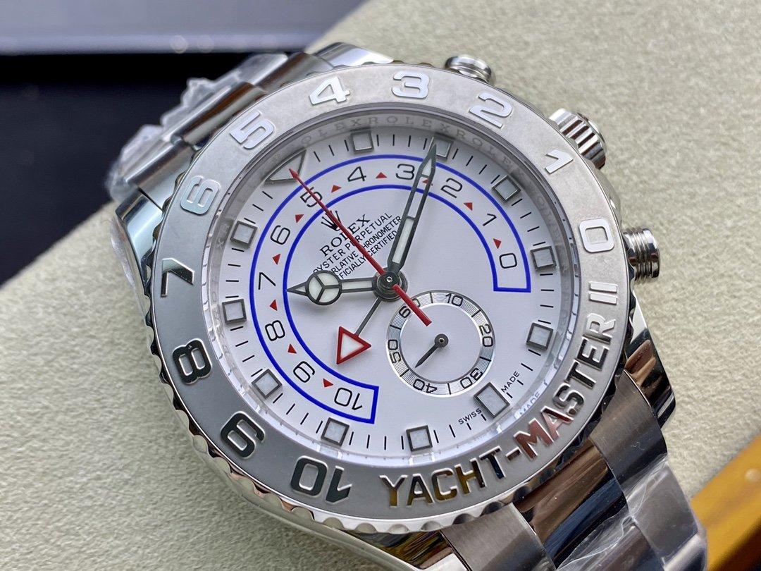 VR Factory高仿勞力士遊艇名仕型II 44MM大尺寸計時機芯複刻手錶
