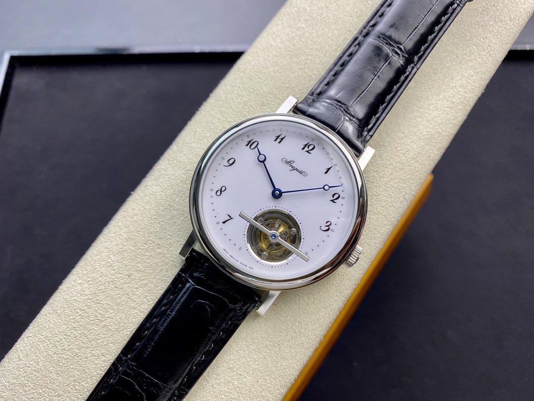 R8廠首款5點位高仿寶璣CIassique經典系列5367超薄陀飛輪41MM複刻手錶