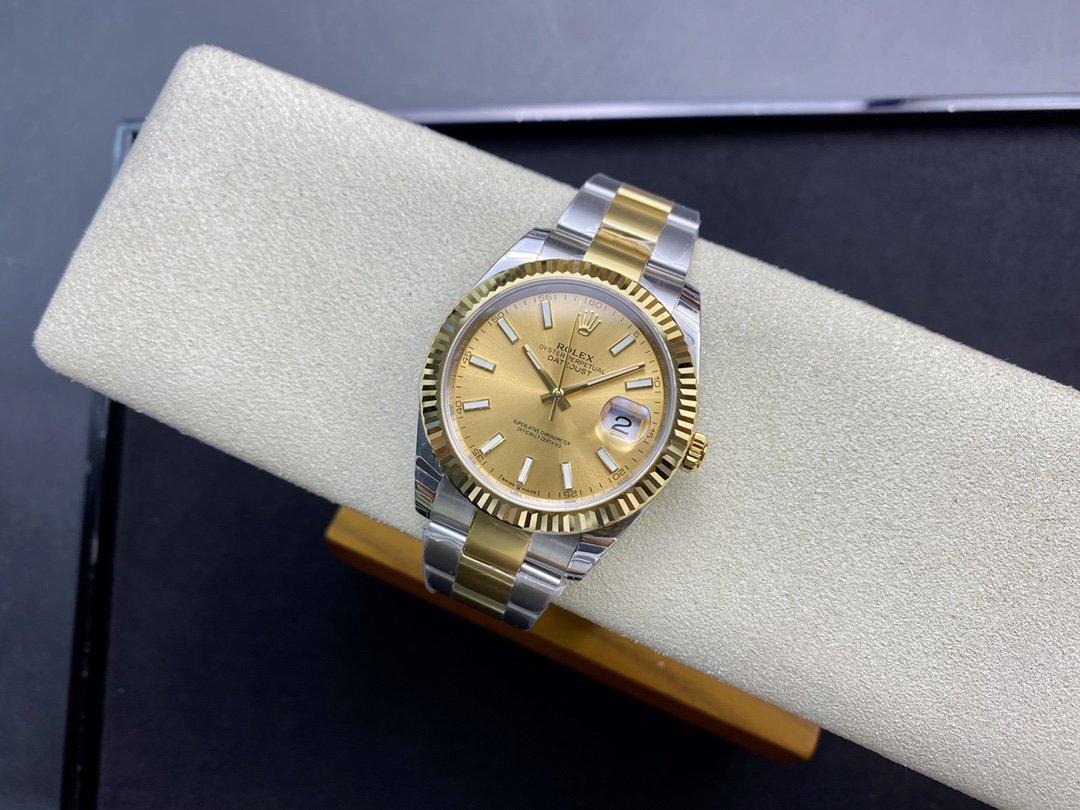 EW廠V3升級版原版開模高仿勞力士Rolex 3235自動機械機芯126331日誌型系列41MM複刻手錶
