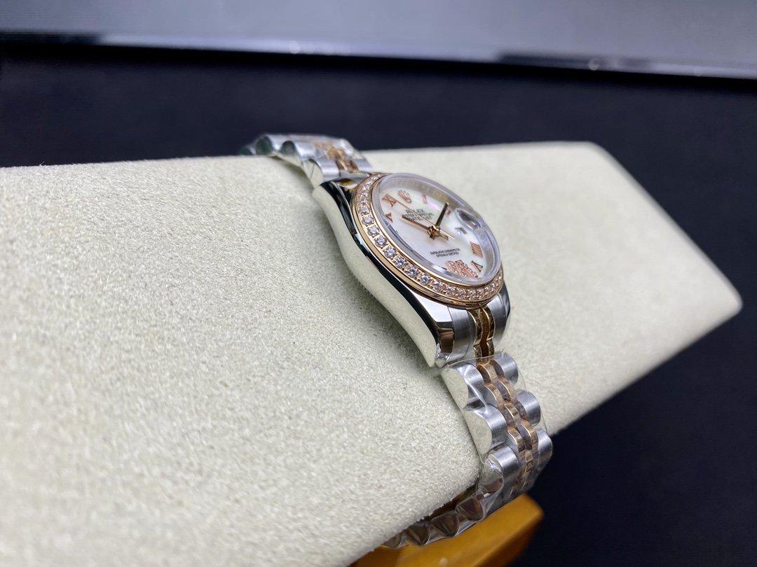 WF出品高仿勞力士女裝日誌型28㎜日誌型279174-0009複刻手錶