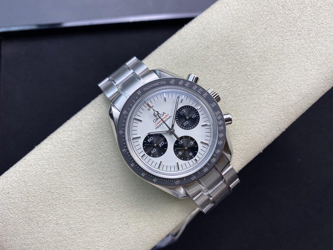 OM廠V2升級版高仿歐米茄omega登月超霸863機芯42MM複刻手錶