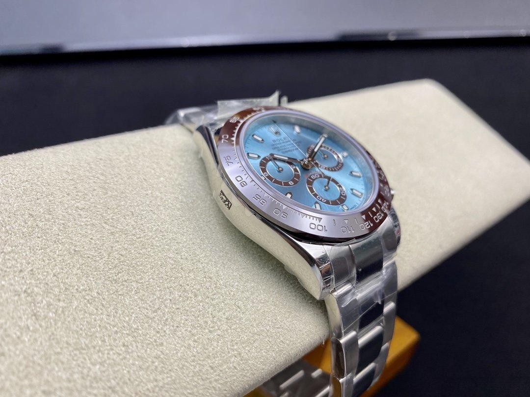 TW廠勞力士蠔式恒動宇宙計時型迪通拿冰藍迪904L鋼7750機芯40MM複刻手錶