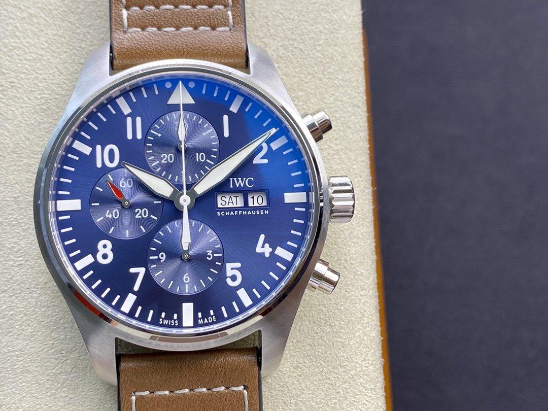 ZF出品萬國IWC3777飛行員計時系列小王子7750機芯43MM複刻手錶