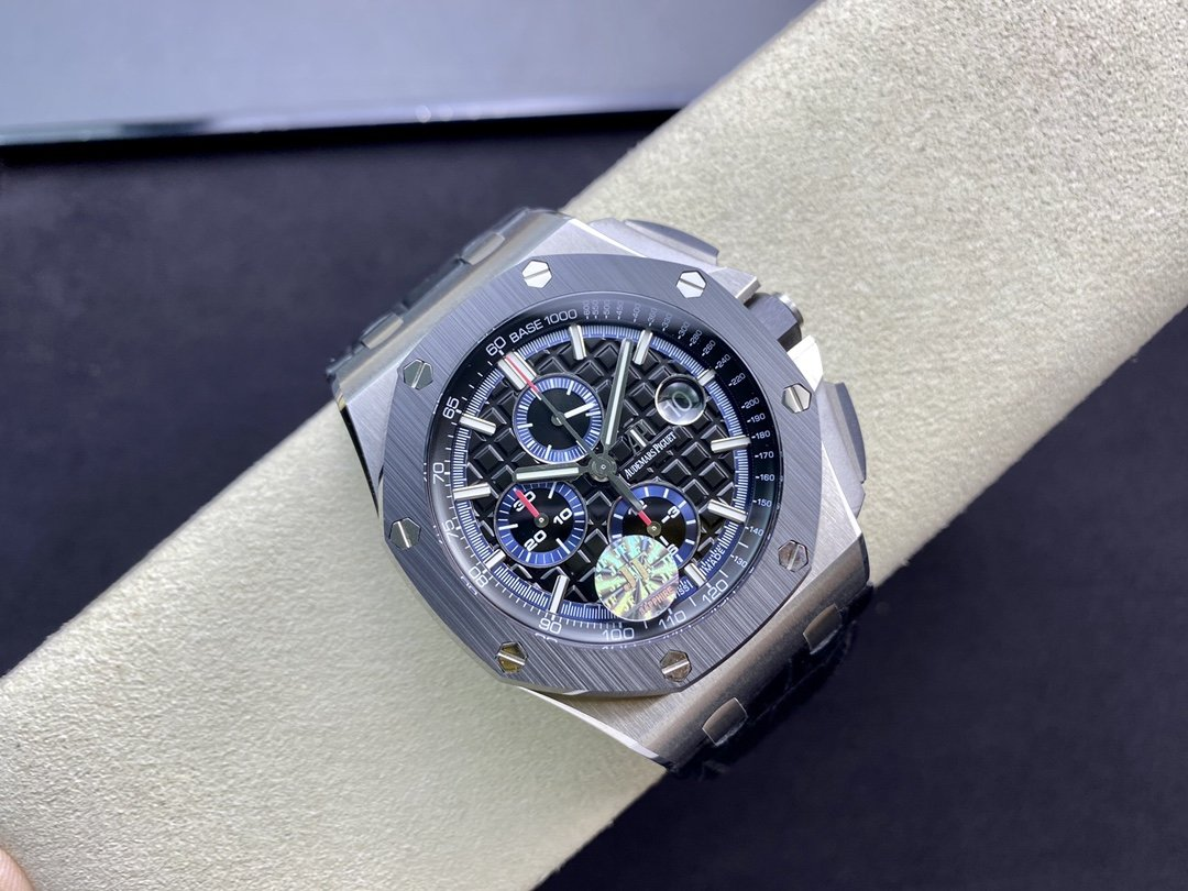 JF廠愛彼AP26400SO 陶瓷按鈕 搭載復刻原版CaL. 3126全自動計時機芯複刻手錶