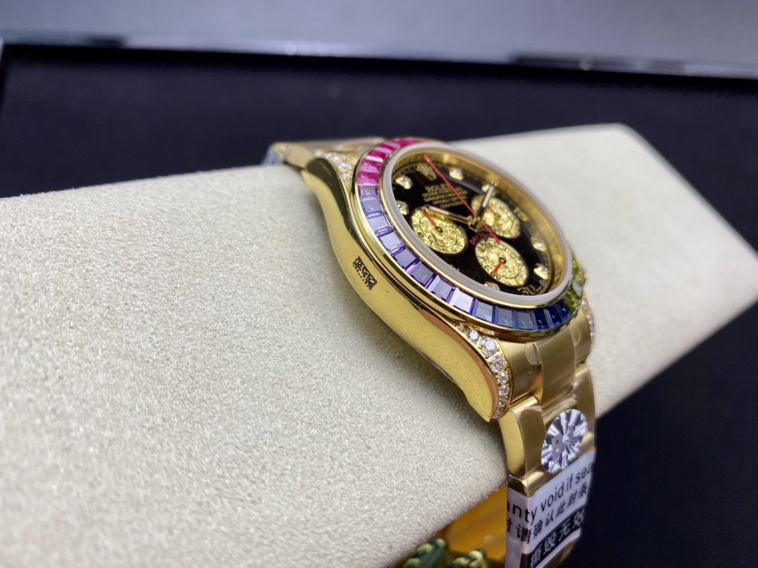 BL廠高仿勞力士彩虹迪迪通拿系列4130機芯40MM複刻手錶