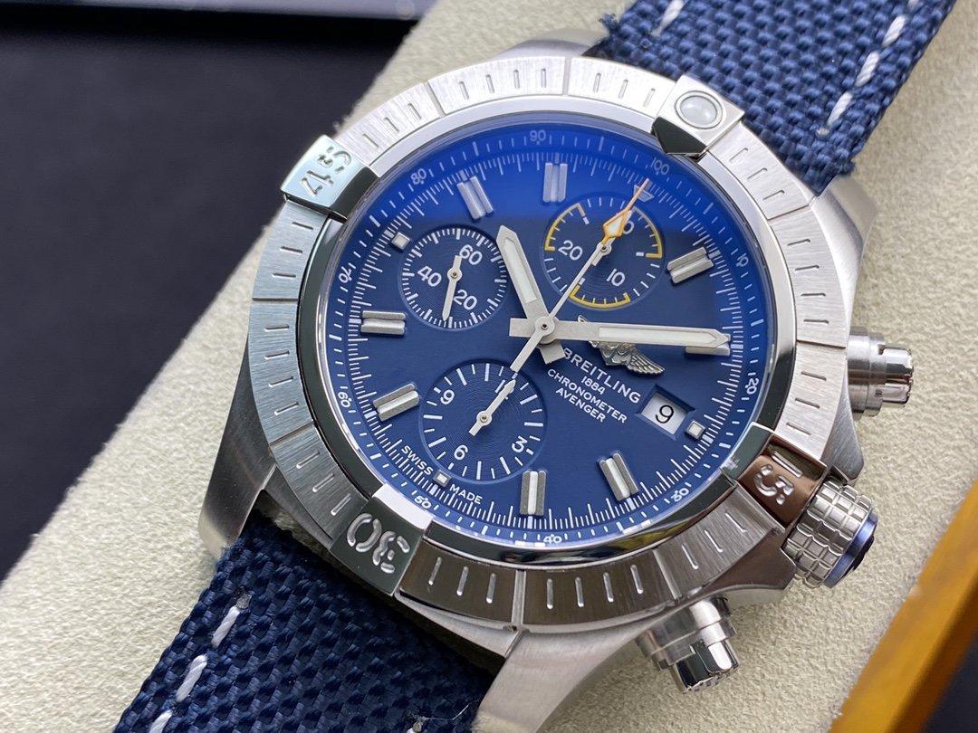 TF(Technology Factory)百年靈BREITLING復仇者計時7750腕表45MM高仿手錶