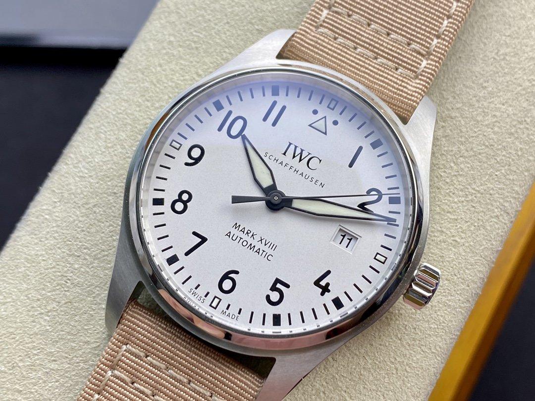 V7廠萬國IWC飛行員馬克十八系列超級副本V2終極版2892機芯複刻手錶