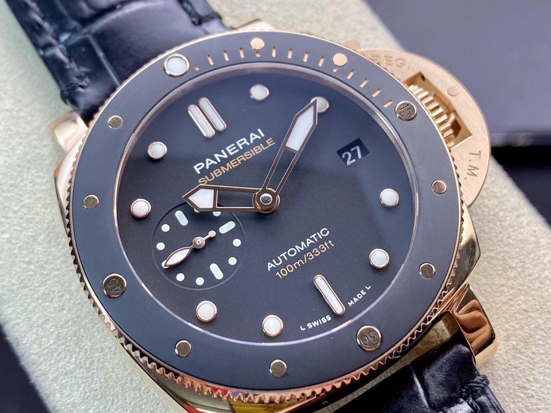 VS Factory新力作 青銅之王VS沛 納海PAM968 直徑47毫米高仿手錶
