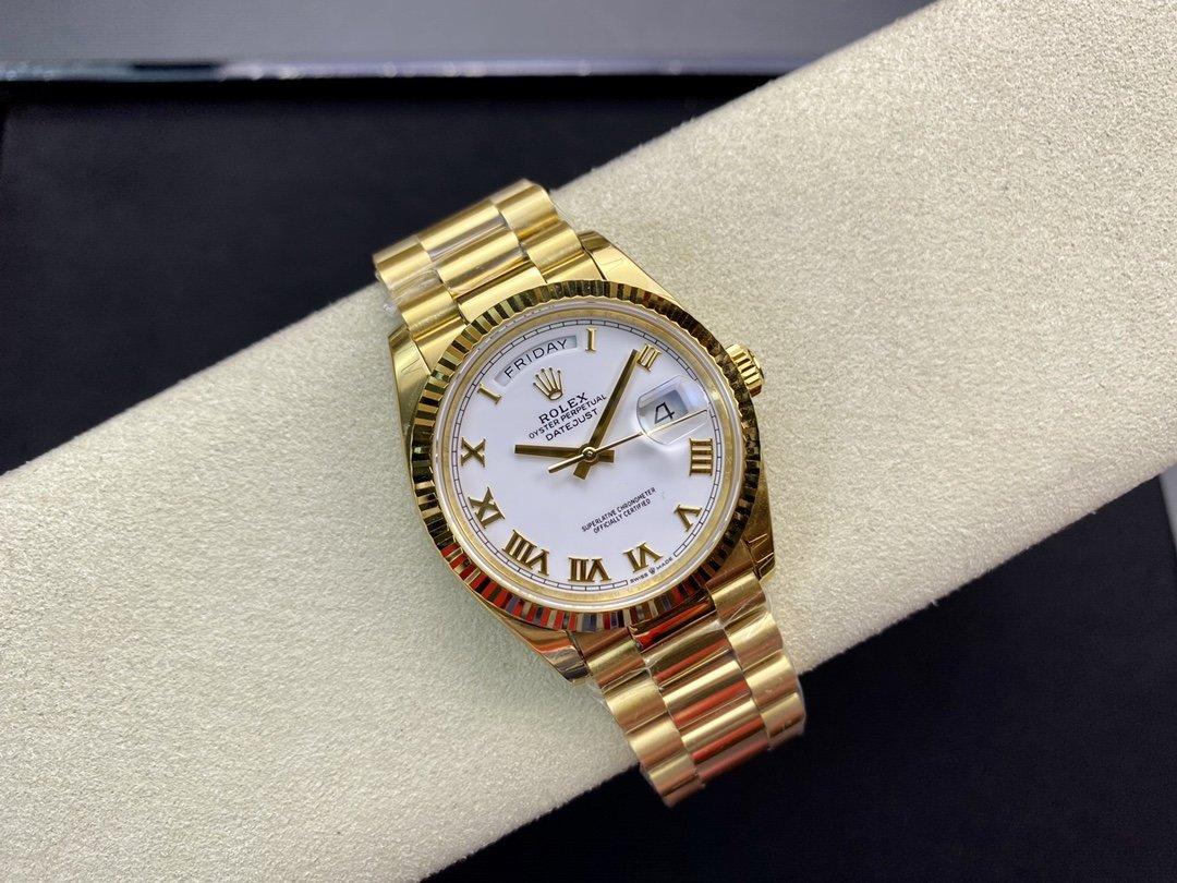 EW Factory廠高仿勞力士Rolex星期日志型3255機芯36MM複刻手錶