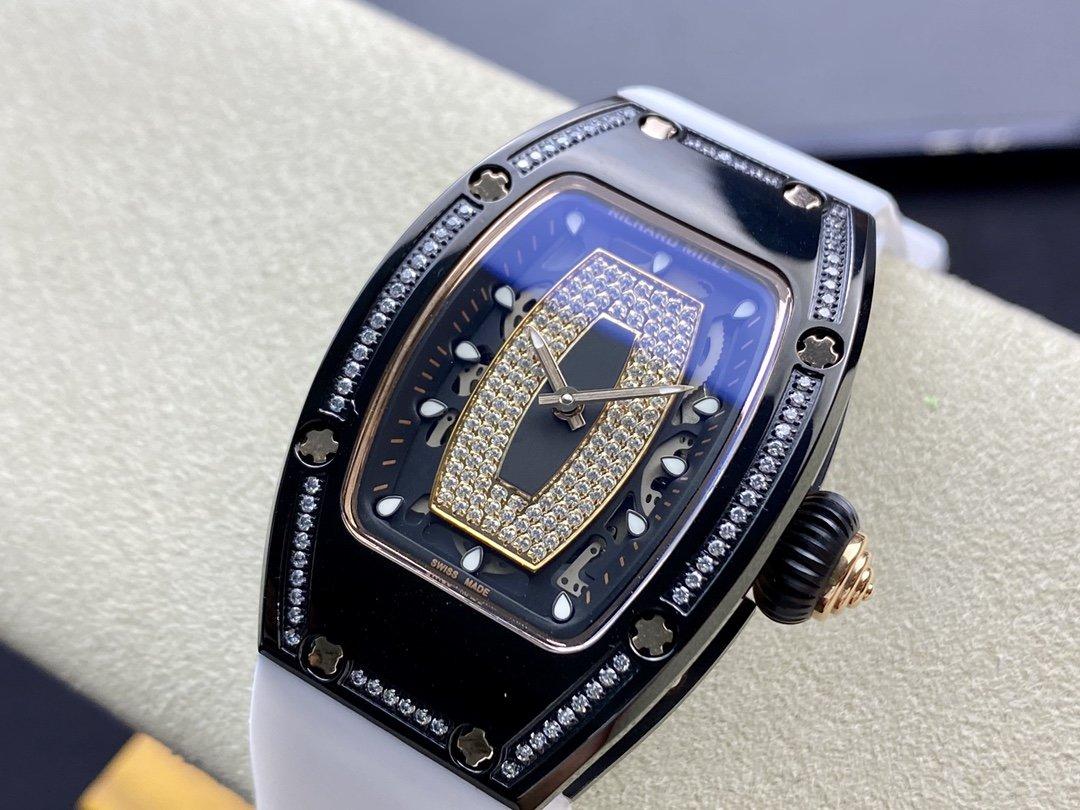 理查德RM007 紅唇女表 RM37表徑31mm·日本進口機械機芯高仿手錶