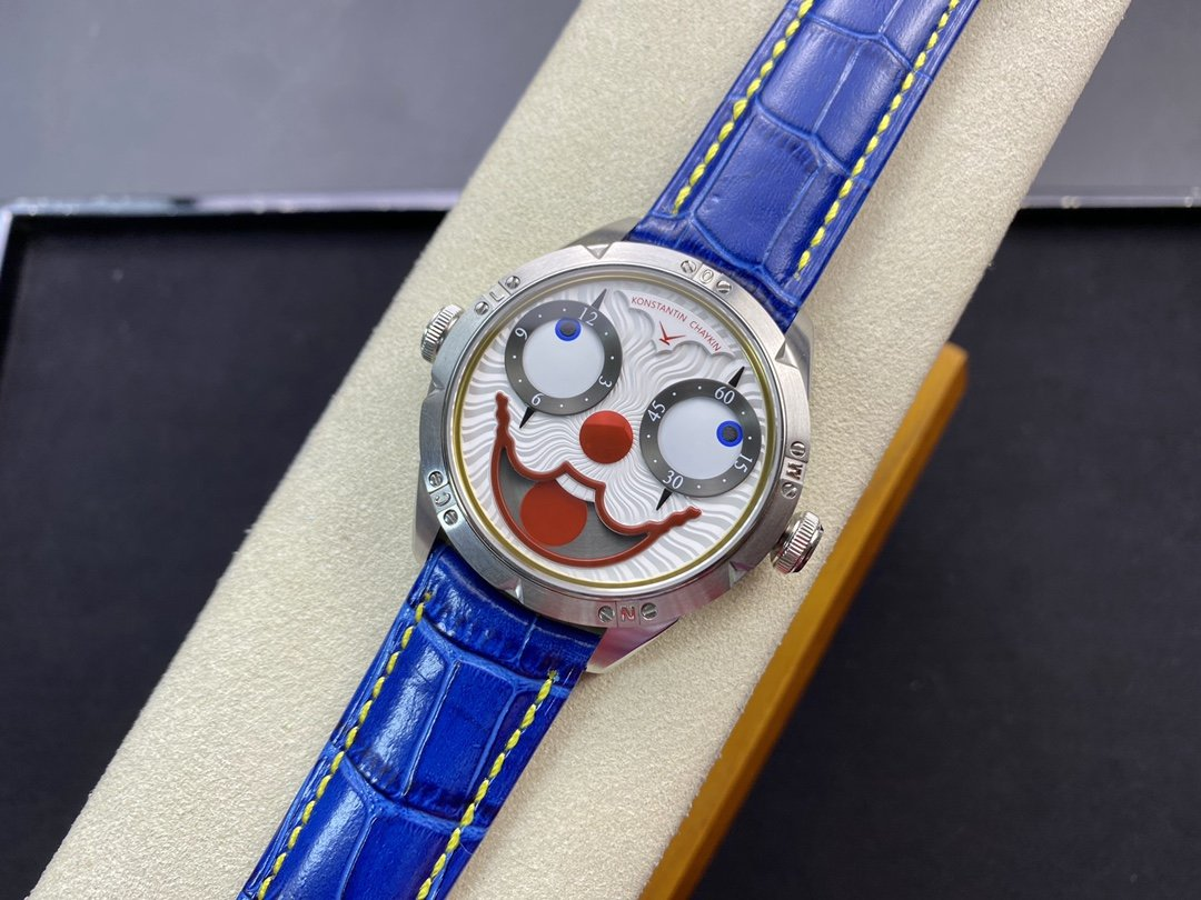 TW廠俄羅斯小丑最高版本V3S真功能快調月相機械42MM高仿手錶