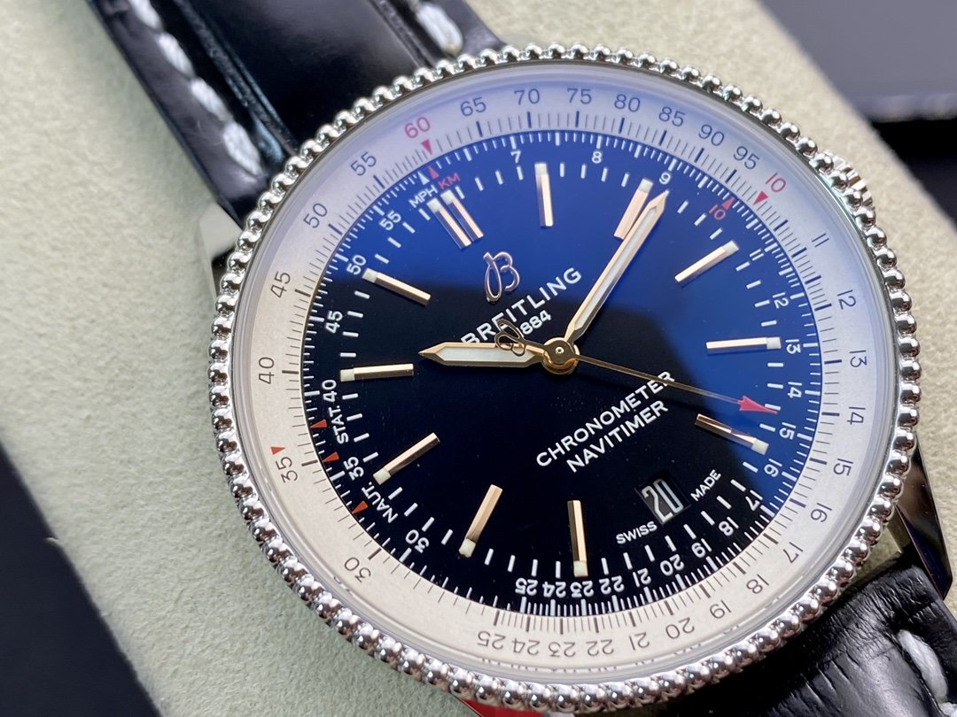 V7廠百年靈 航空計時1系列 瑞士頂級精磨SW200機芯41mm高仿手錶