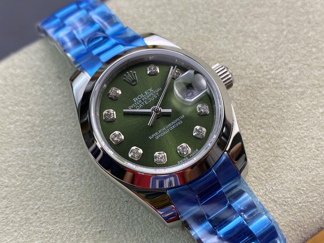 WF廠勞力士女裝日誌型28MM日誌型279174-0009型2671機芯複刻手錶