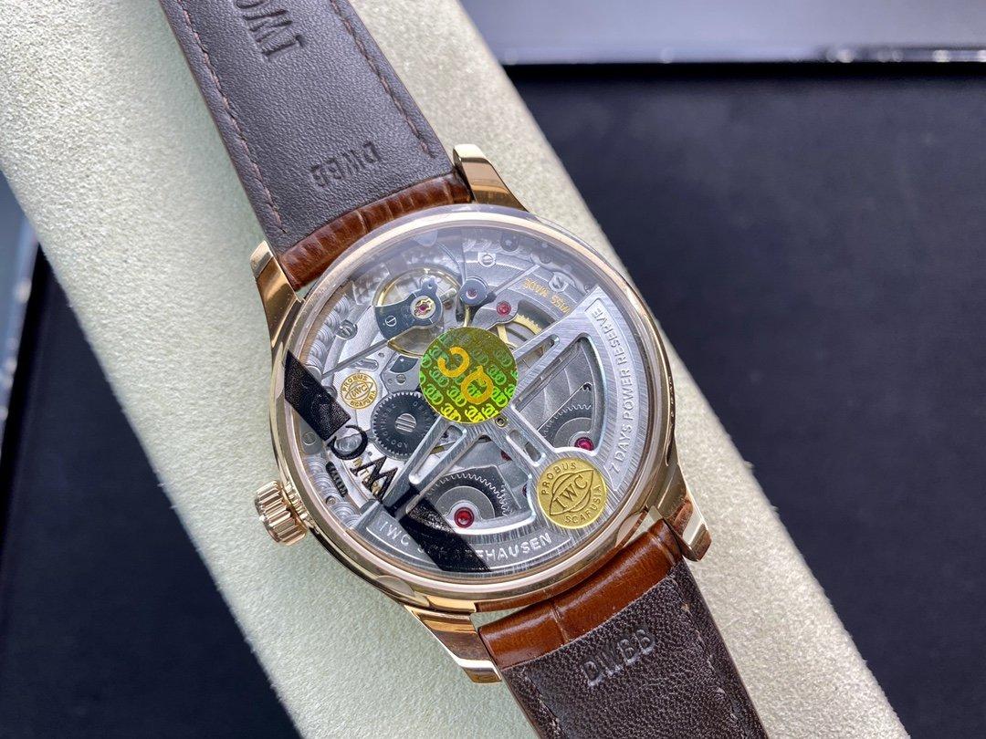 ZF廠高仿萬國IWC葡七葡萄牙系列七日鏈葡7 自動機械機芯42MM複刻手錶