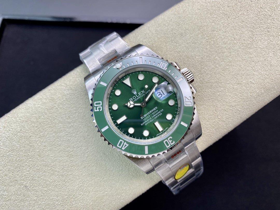 N廠V10S版高仿勞力士綠水鬼SUB潛航者系列3135機芯904鋼40MM複刻手錶