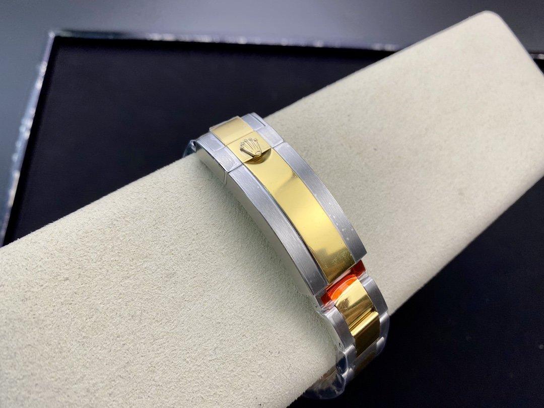 高仿勞力士潛水型系列間金藍水鬼可選配2836/3135機芯40MM複刻手錶