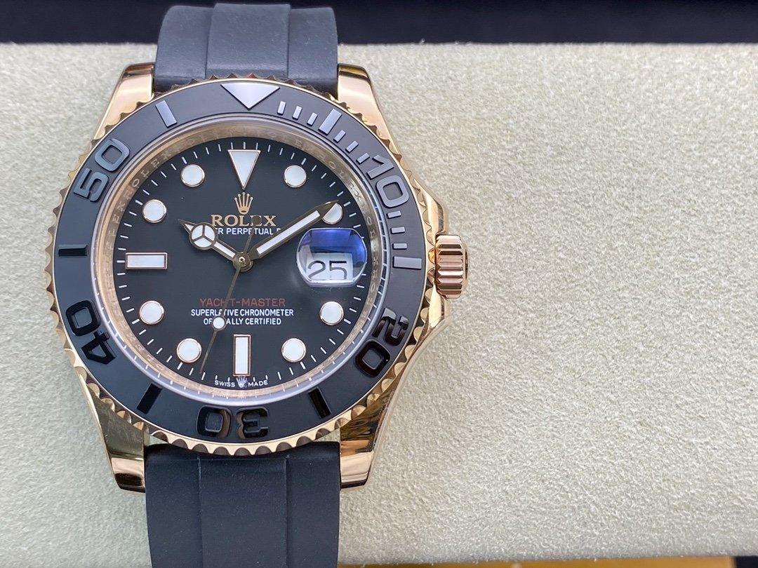 N 廠高仿勞力士YM金遊艇116655型2836機芯與3135機芯40MM複刻手錶