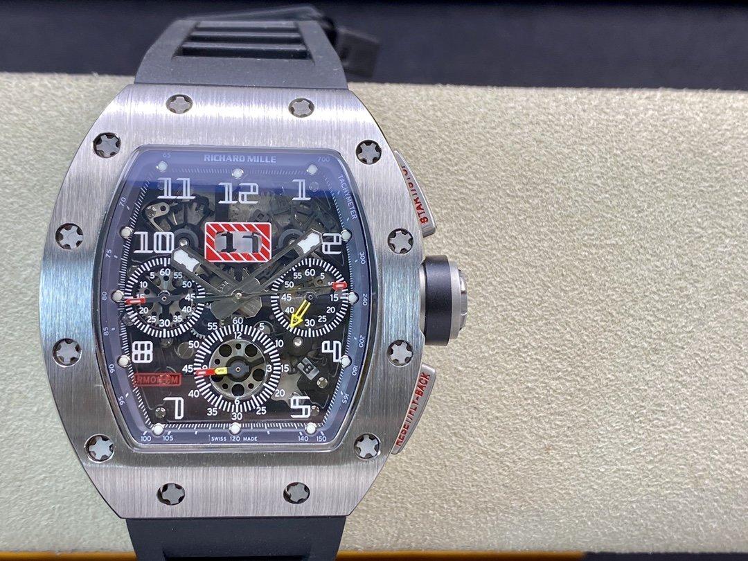 Kv廠高仿理查德米勒RICHARD MILLE RM 011 FELIPE MASSA 系列複刻手錶