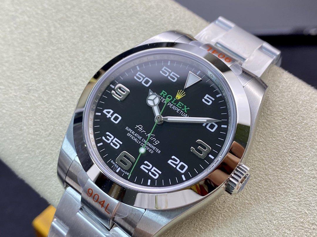 GM廠勞力士蠔士恒動空中霸王Oyster Perpetual Air-King機械40MM複刻手錶