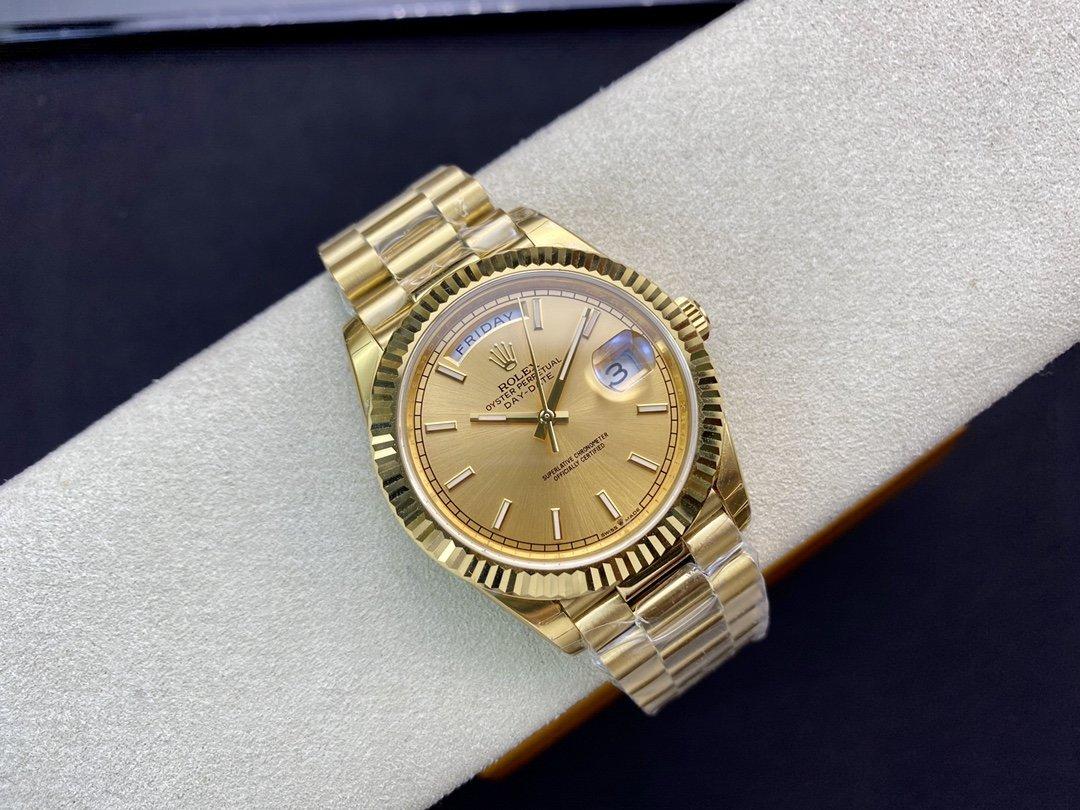 EW廠高仿勞力士雙曆星期日楊型3255機芯40MM複刻手錶