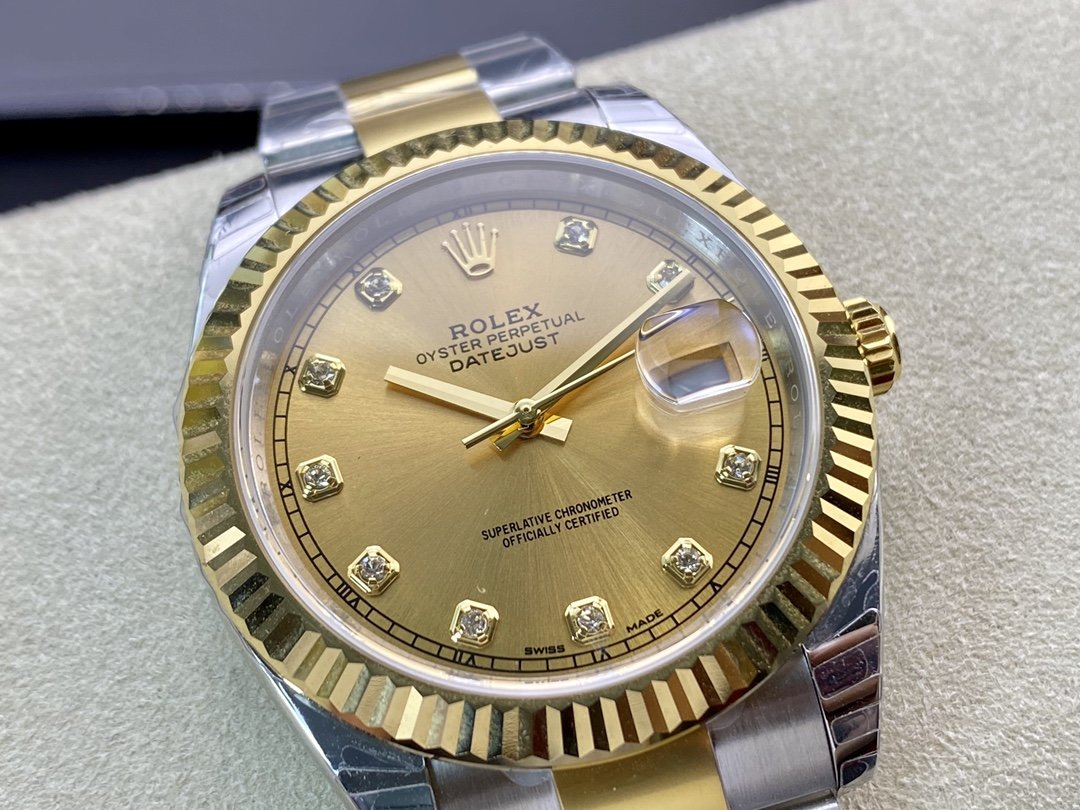 EW Factory廠V3升級版 原版開模 最高版本高仿勞力士Rolex 3235自動機械機芯日誌型系列126331型41MM複刻手錶