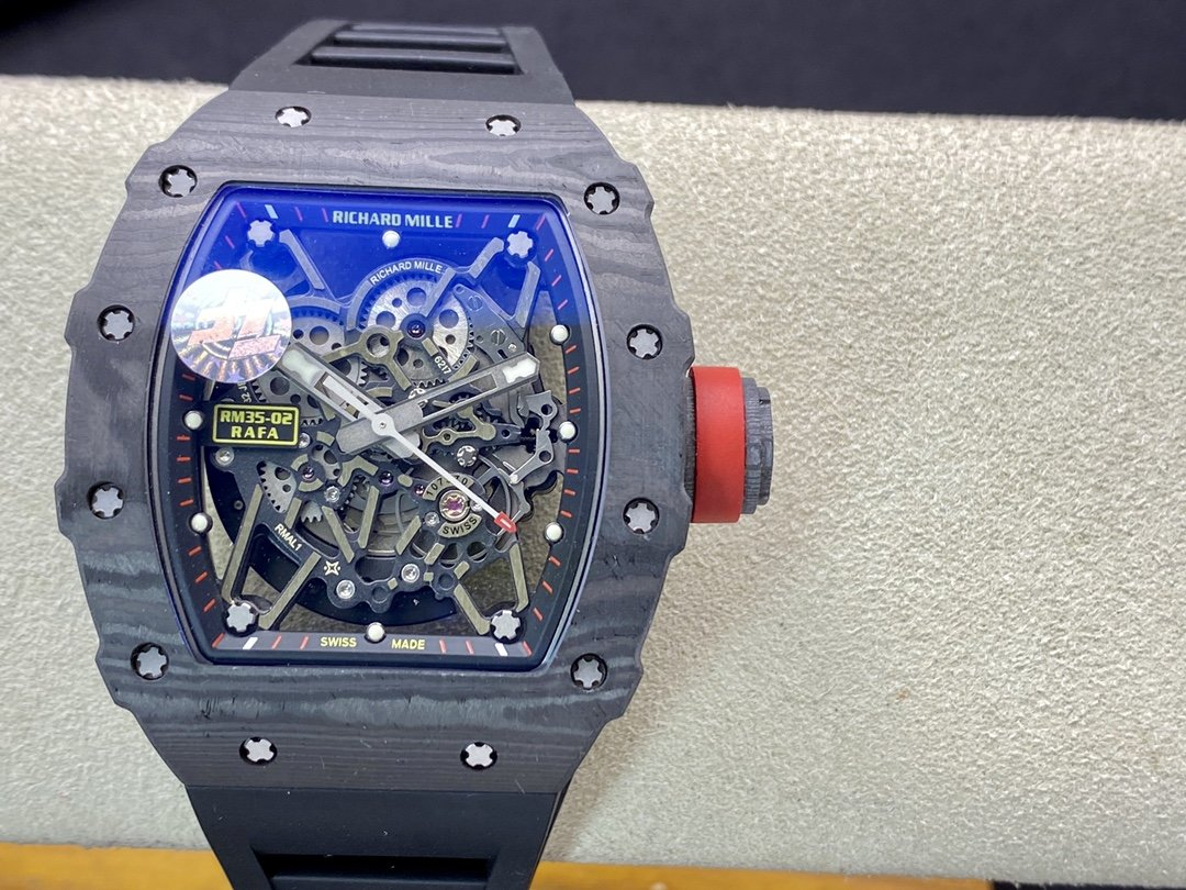 ZF廠高仿理查德米勒RM035-2系列碳纖維殼RM.RMUL3機芯複刻手錶
