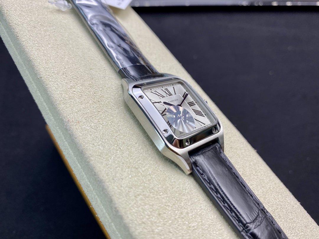 F1廠高仿卡地亞山度士系列杜蒙瑞士石英27MM/31MM複刻手錶