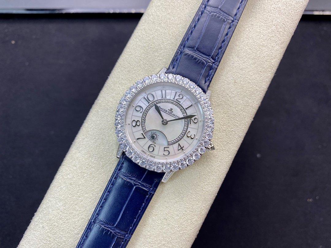 ZF廠高仿積家鑽圈約會系列Q3523570腕表9015定制版925B/1型一體機芯36MM複刻手錶