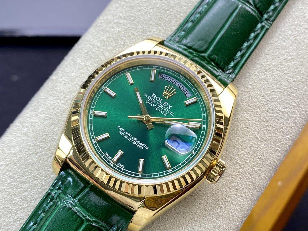 TR廠高仿勞力士DD星期日志系列2836機芯36MM高仿手錶