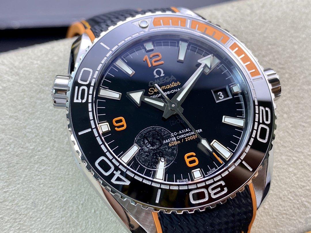 VS廠歐米茄海馬600米海洋宇宙600米四分之一橙8900機芯複刻手錶