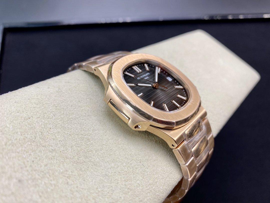 MP廠高仿百達翡麗鸚鵡螺 鋼表之王5711鸚鵡螺Cal.324自動上鏈機芯1:1複刻手錶