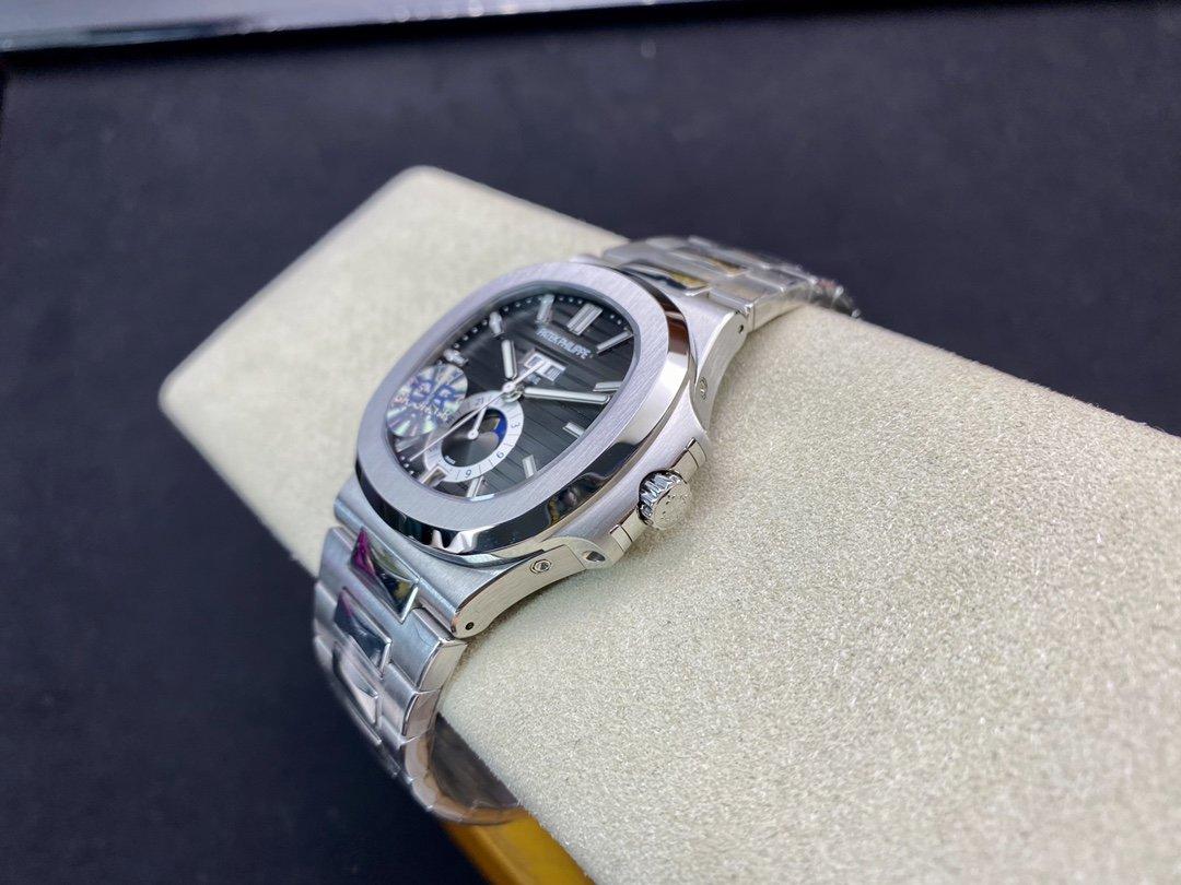 GR廠高仿百達翡麗鸚鵡螺5726多功能Caliber324s機械機複刻手錶手表