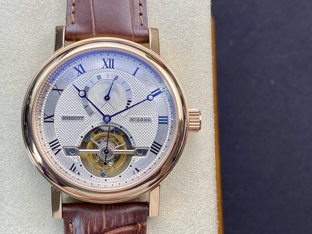 高仿寶璣經典複雜陀飛輪系列動能顯示42MM複刻手錶手表