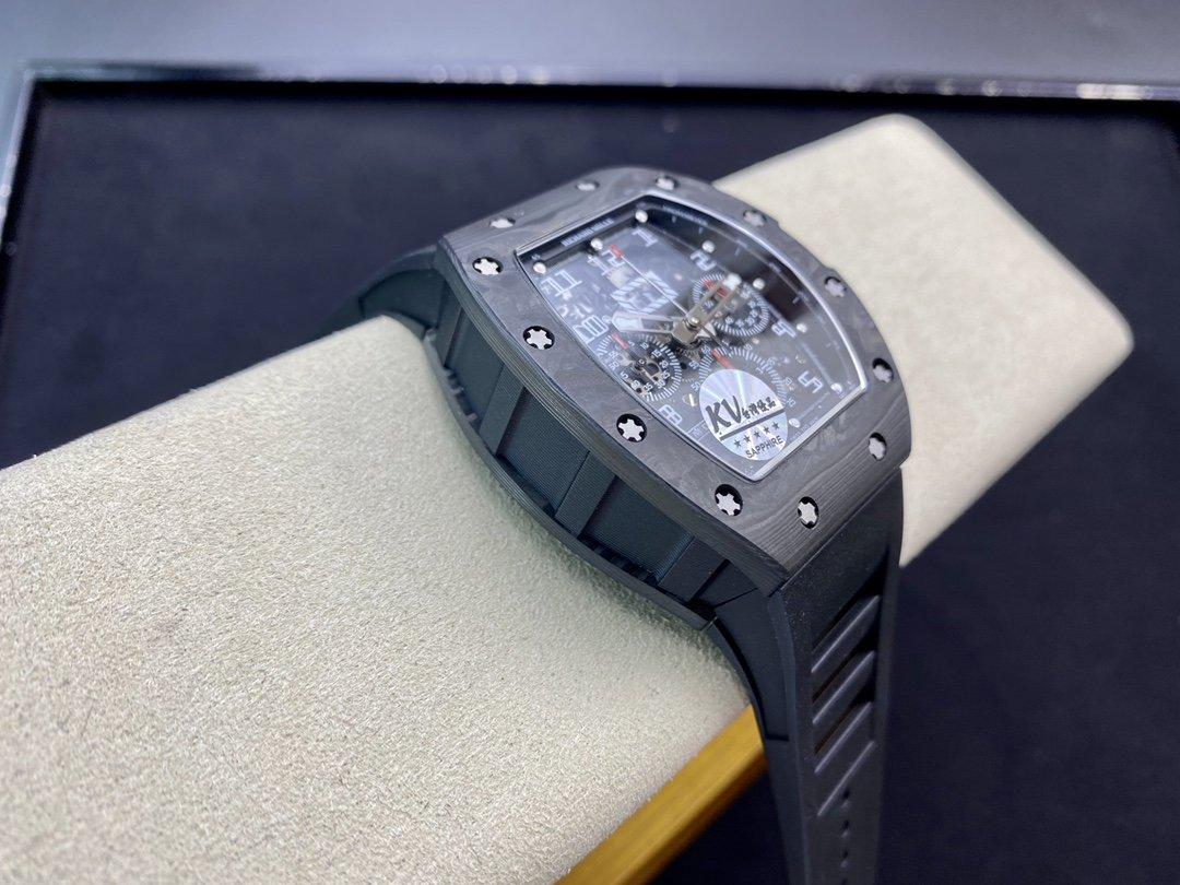 KV廠升級版理查德米爾RM011系列計時機芯複刻手錶手表